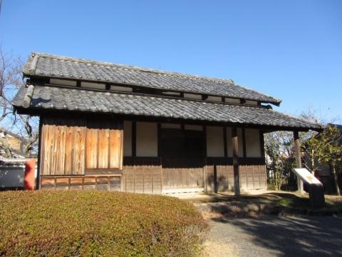 長楽寺村郷倉