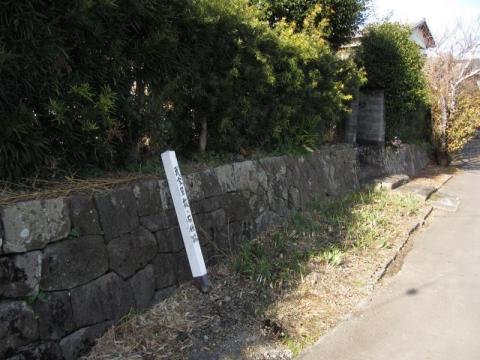 武家屋敷・石垣跡