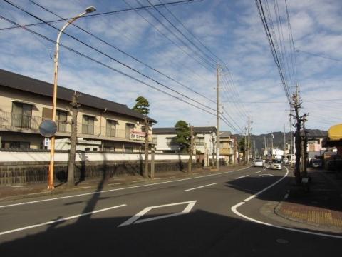 藤枝宿東木戸門跡
