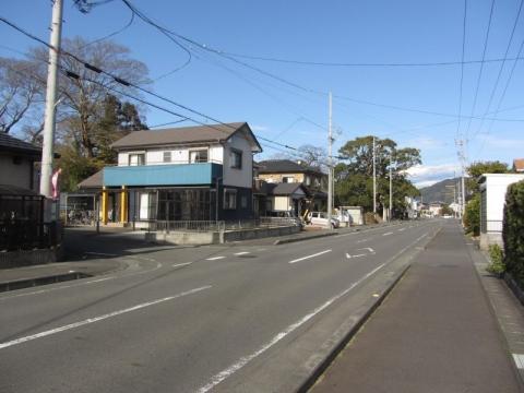旧東海道 藤枝市水守
