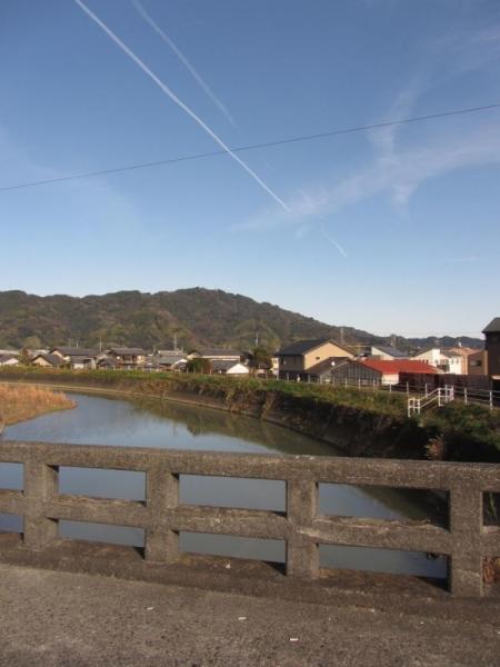 八幡橋と葉梨川