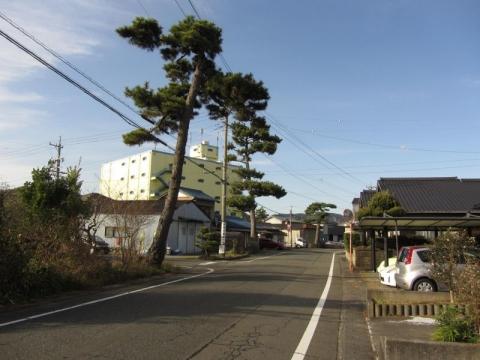 旧東海道 藤枝市鬼島03