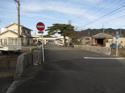 旧東海道 藤枝市仮宿