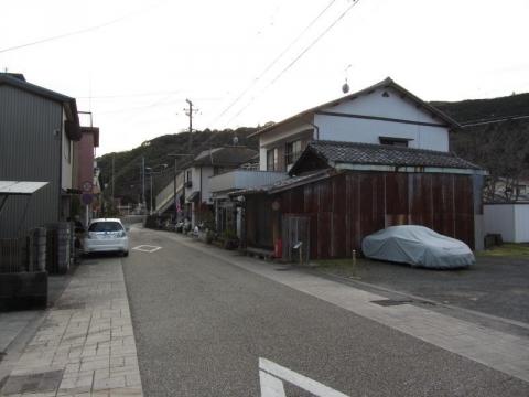 弘法大師堂と高札場跡