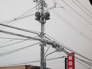 170307電線につく雪