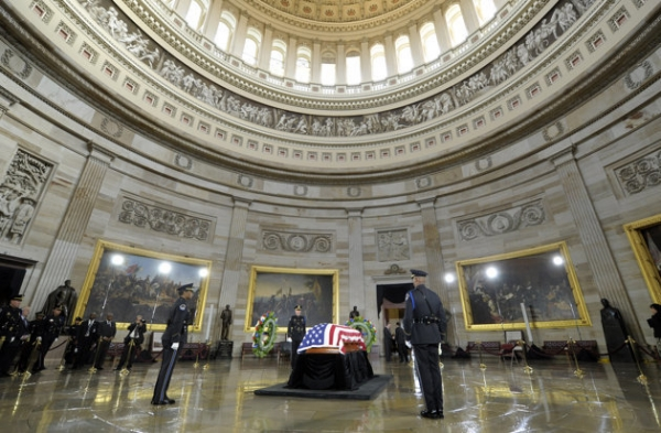 Daniel Inouye memorial, Yahoo News photo