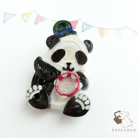 タンバリンパンダ1