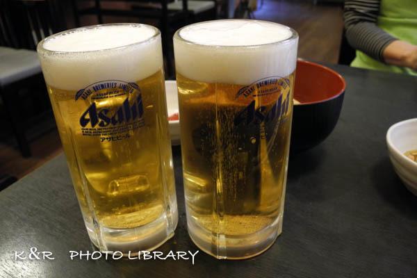 2016年4月29日生ビール2