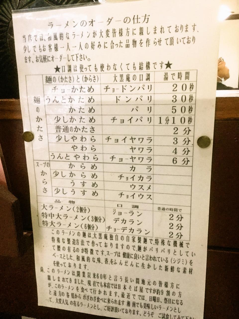 大黒庵(店内)