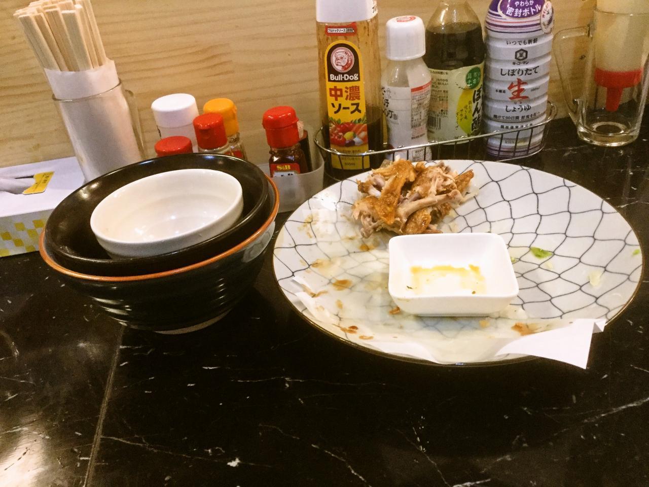 あげ市 鶴見店(店長お任せ腹減った定食)