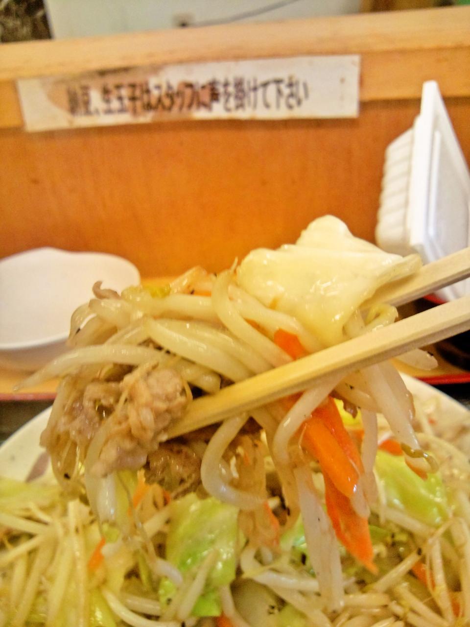 激安食堂 小林屋(肉野菜炒め定食)