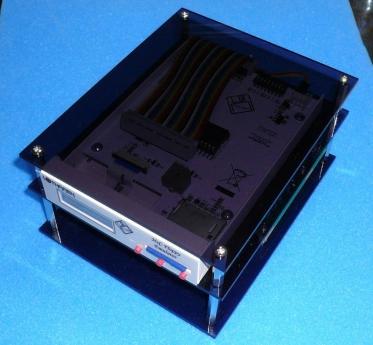 HxC + VFO基板TRI-005 + 専用簡易ケース