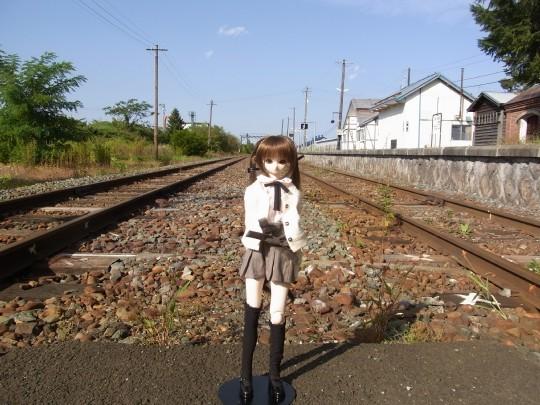 山部駅12