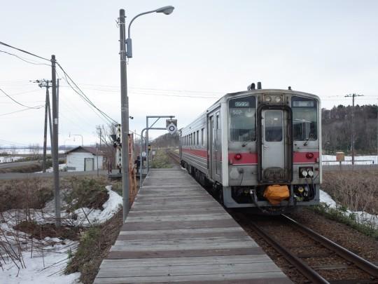 南幌延駅10