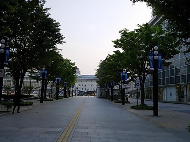富山駅前通り201605