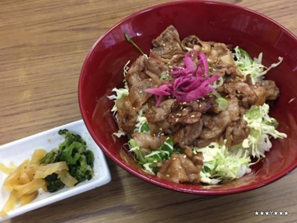 イノブタ焼き肉丼