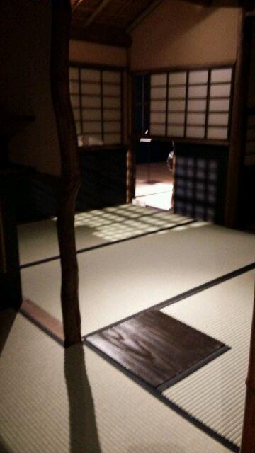 織部の茶室