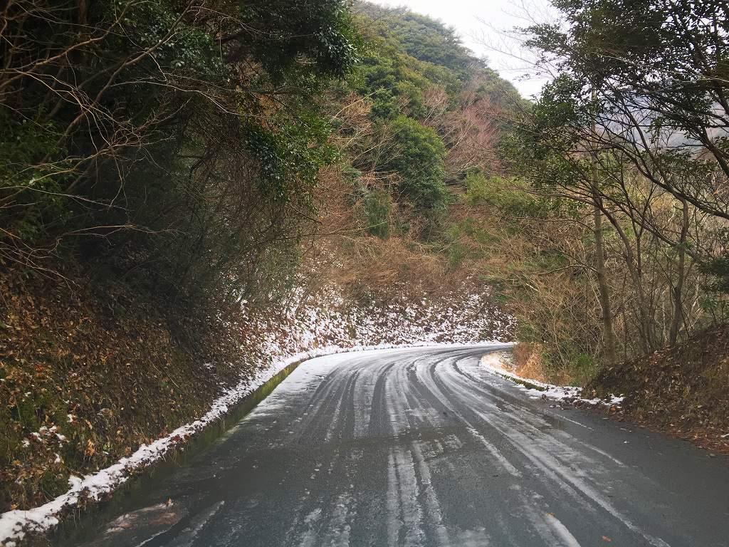 20170214林道多良岳線 (1)