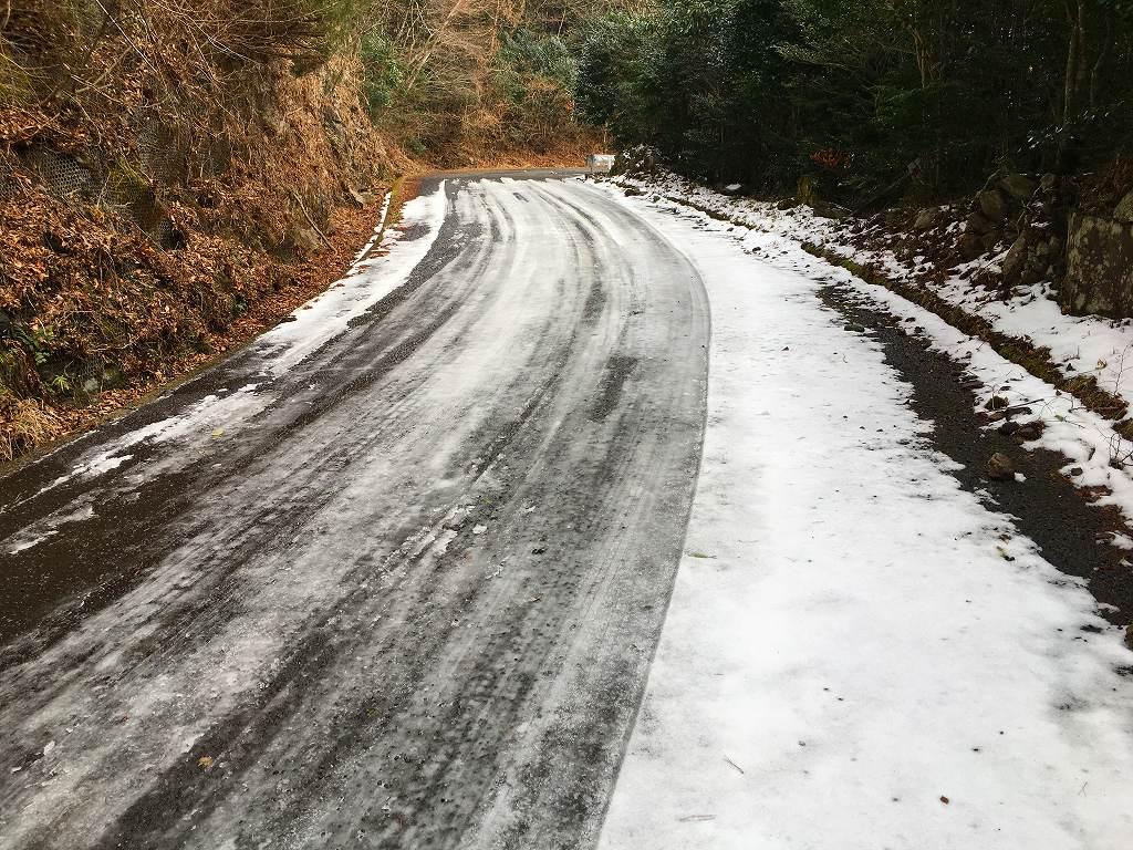20170214林道多良岳線 (3)