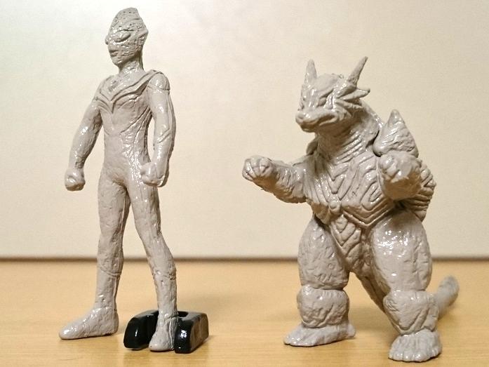 ウルトラマンティガ怪獣 ティガモンスター超全集 イーヴィルティガガーディー石像0