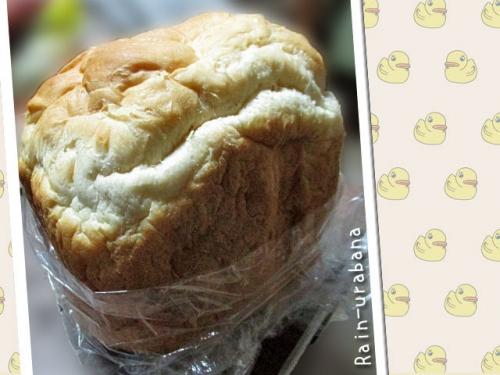 手作りパンを頂きました (^ ^V