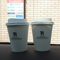 ホットコーヒー 100円×2
