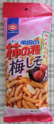 亀田の柿の種 梅しそ 60g 51円