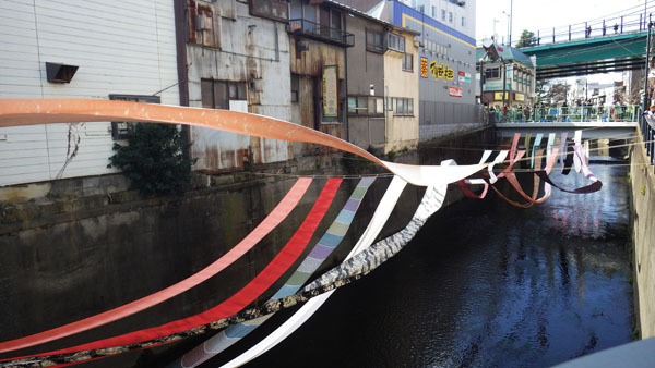 寺斎橋と川のギャラリー