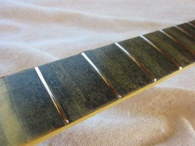 オリジナルギターオッキオ製作