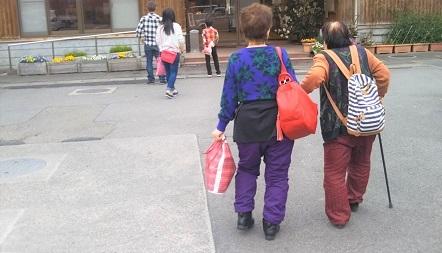 母&おば 温泉