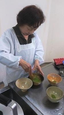 抹茶&イチゴ大福