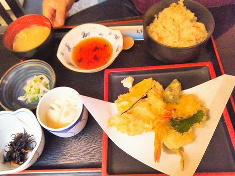 天ぷら定食