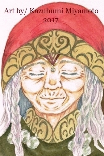 「天星神話」の最初の舞台の草原地帯に暮らす部族の長。お婆ちゃんです。