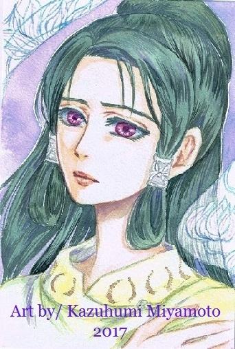 「天星神話」のヒロイン・アリオンゲレルの母。