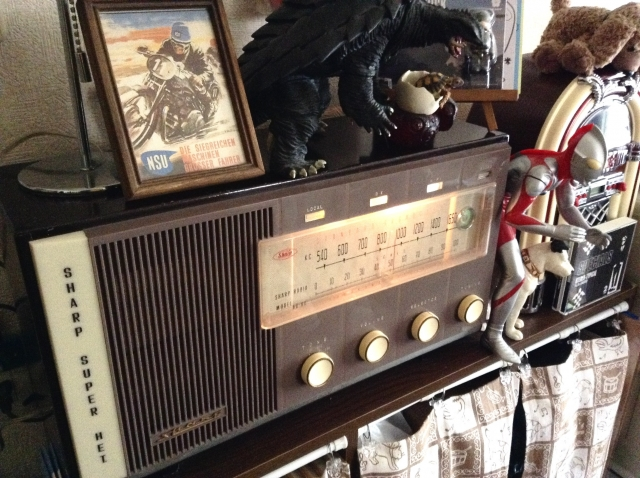 SHARP Radio Model 6D-80!