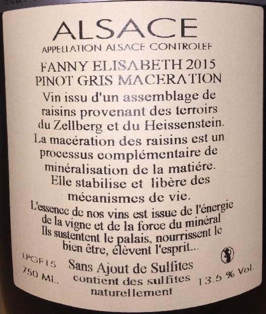 Pinot Gris Maceration Fanny Elisabeth Julien Meyer 2015 part2