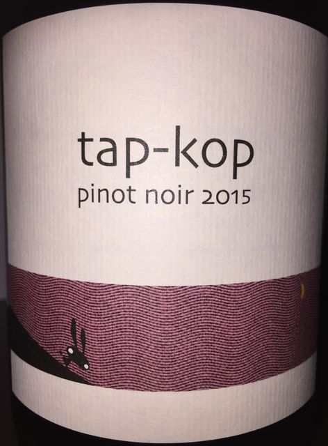 Tapkop Pinot Noir Kondo Vineyard 2015 part1