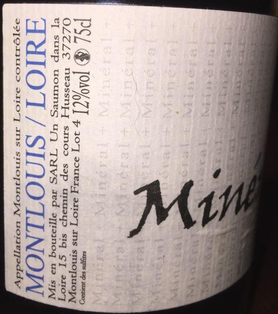 Mineral_ Montlouis Loire SARL Un Saumon