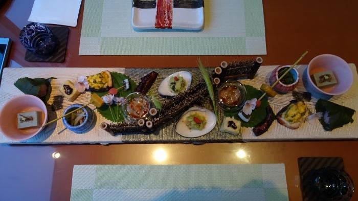 海のしょうげつ 食事 (1)