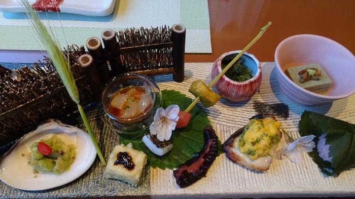 海のしょうげつ 食事 (2)