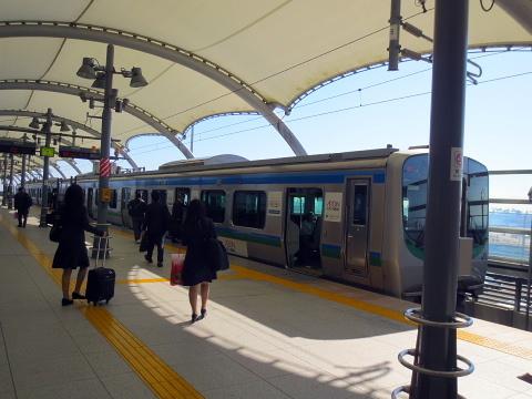 003空港駅~仙台駅