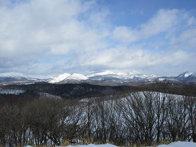 モアン山頂上北展望