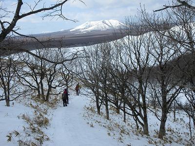モアン山下山