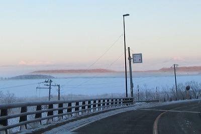 シラルトロ湖2月朝