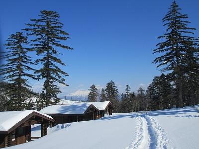藻琴山キャンプ場下山