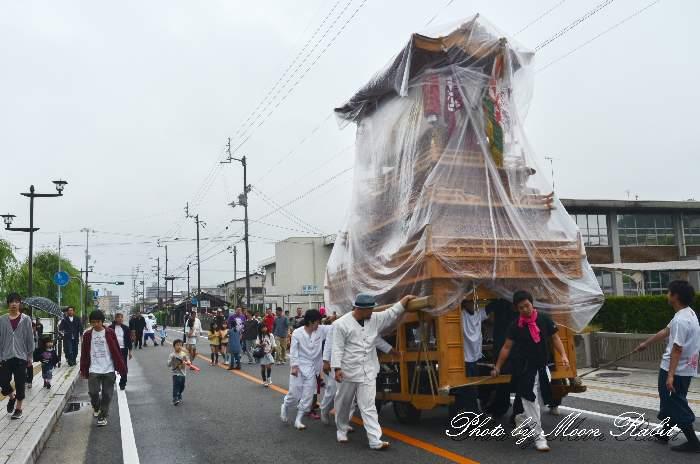吉原稲荷大明神大祭2013 吉原三本松だんじり(屋台・楽車)