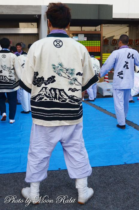 廣江屋台(だんじり)  祭り装束
