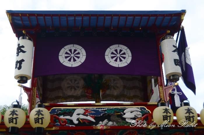 造り物 本町だんじり(屋台) 西条祭り 伊曽乃神社祭礼 愛媛県西条市