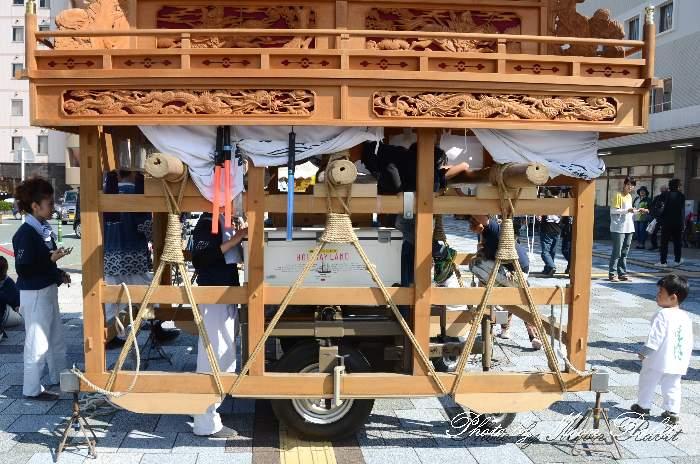台輪 洲之内だんじり(屋台) 西条祭り 伊曽乃神社祭礼 愛媛県西条市