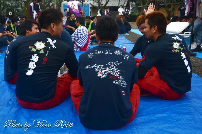 安知生屋台(だんじり) 祭り装束